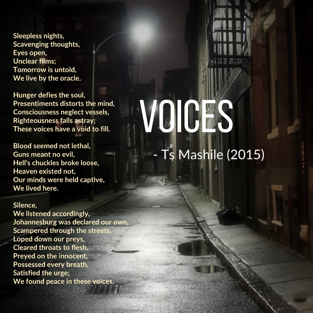 a poem by Ts Mashile